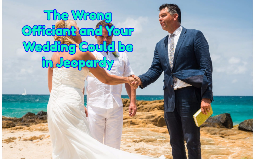 How to Find a Wedding Officiant – In 3 Simple Steps