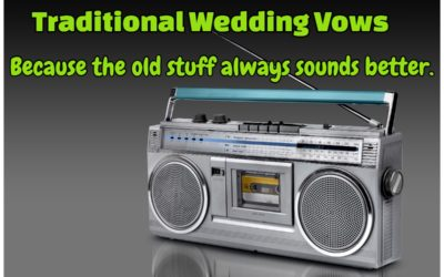 Traditional Wedding Vows – The Definitive Guide